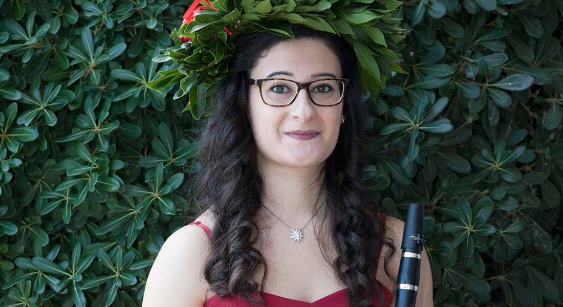 Joven Italo Venezolana obtiene su título Universitario en el Instituto Superior de los Estudios Musicales en Italia con una tesis sobre La Música Folklórica Venezolana