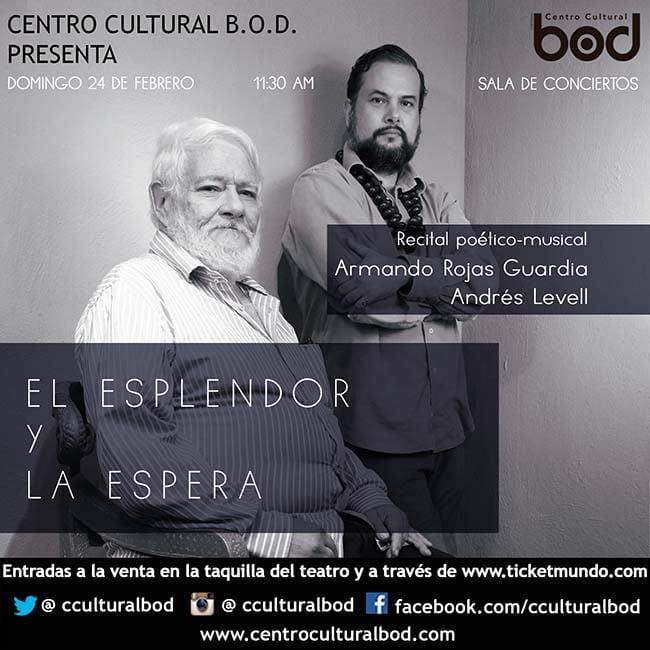 Recital de Armando Rojas Guardia y Andrés Levell en el BOD