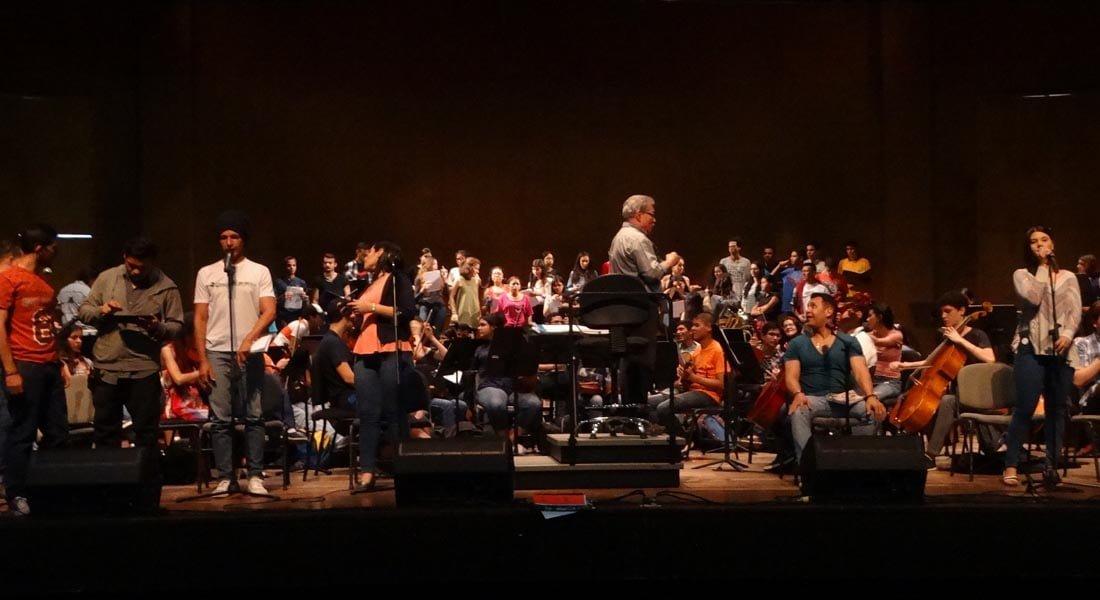 Filarmónica Universitaria y Vocal Song juntos por amor a Venezuela