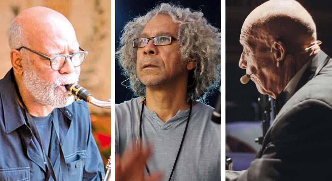 Gerry Weil, Nené Quintero y Víctor Cuica juntos en «Tres Amigos ¡Tres Leyendas!»
