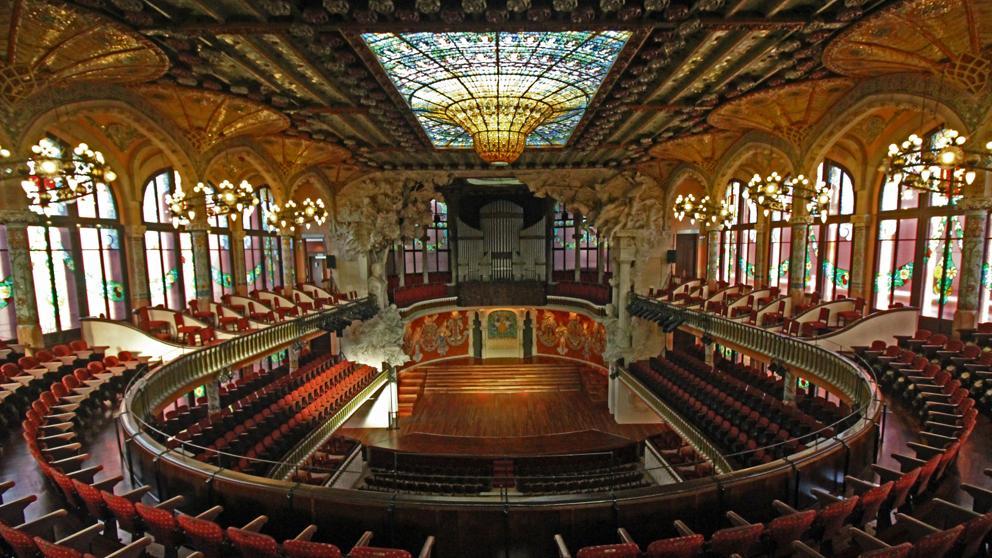 El Palau de la Música inicia el «viaje digital» con su nuevo espacio virtual