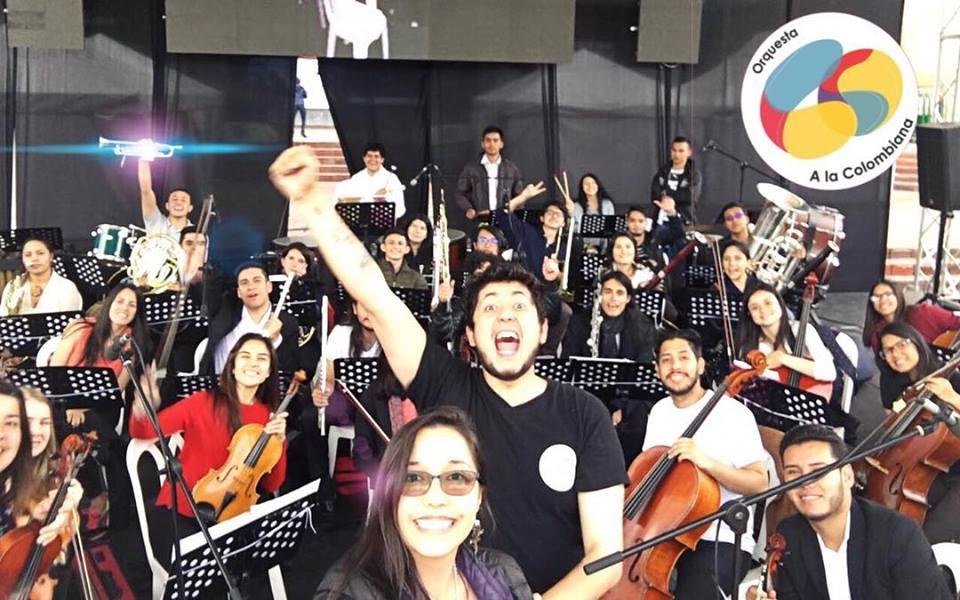Conozca la orquesta que une a colombianos y venezolanos