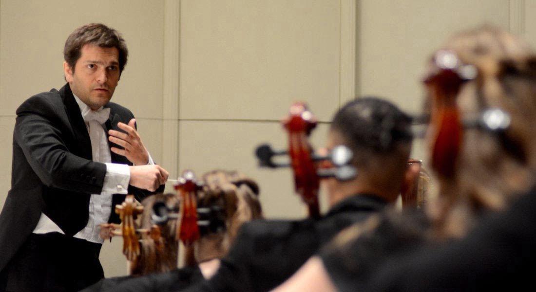 Diego Naser director de la Sinfónica del SODRE: no podemos permitir que se politice la cultura