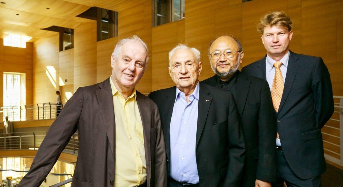 Barenboim dio un recital en Berlín, en homenaje a Frank Gehry – Vía MisionesCuatro.com