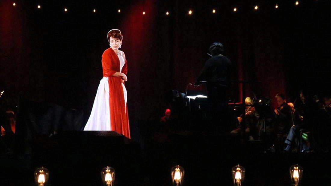 Ante un Gran Rex colmado María Callas volvió a cantar en Buenos Aires gracias a la tecnología