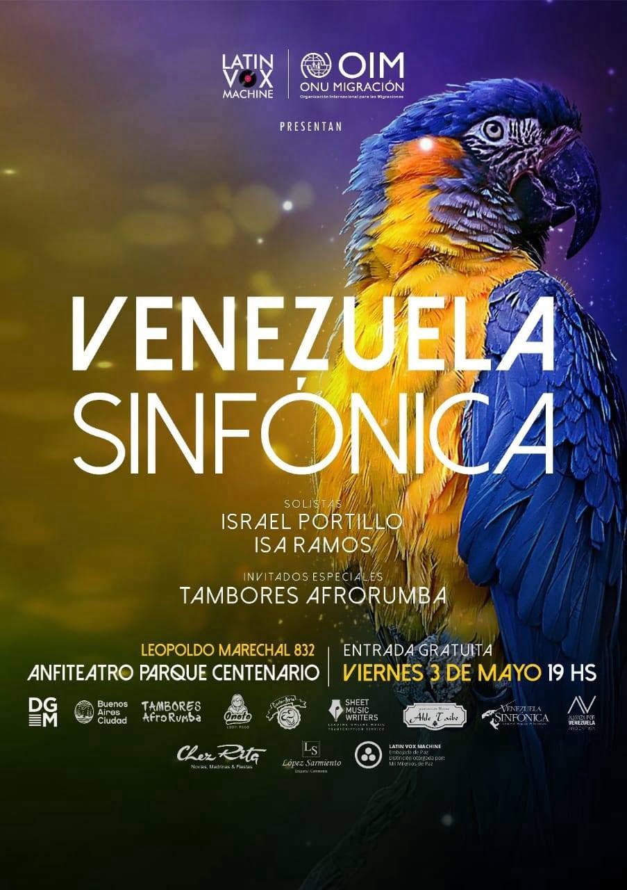 """Latin Vox Machine con el apoyo de la Organización Internacional para las Migraciones (OIM), presentan el concierto """"Venezuela Sinfónica"""""""