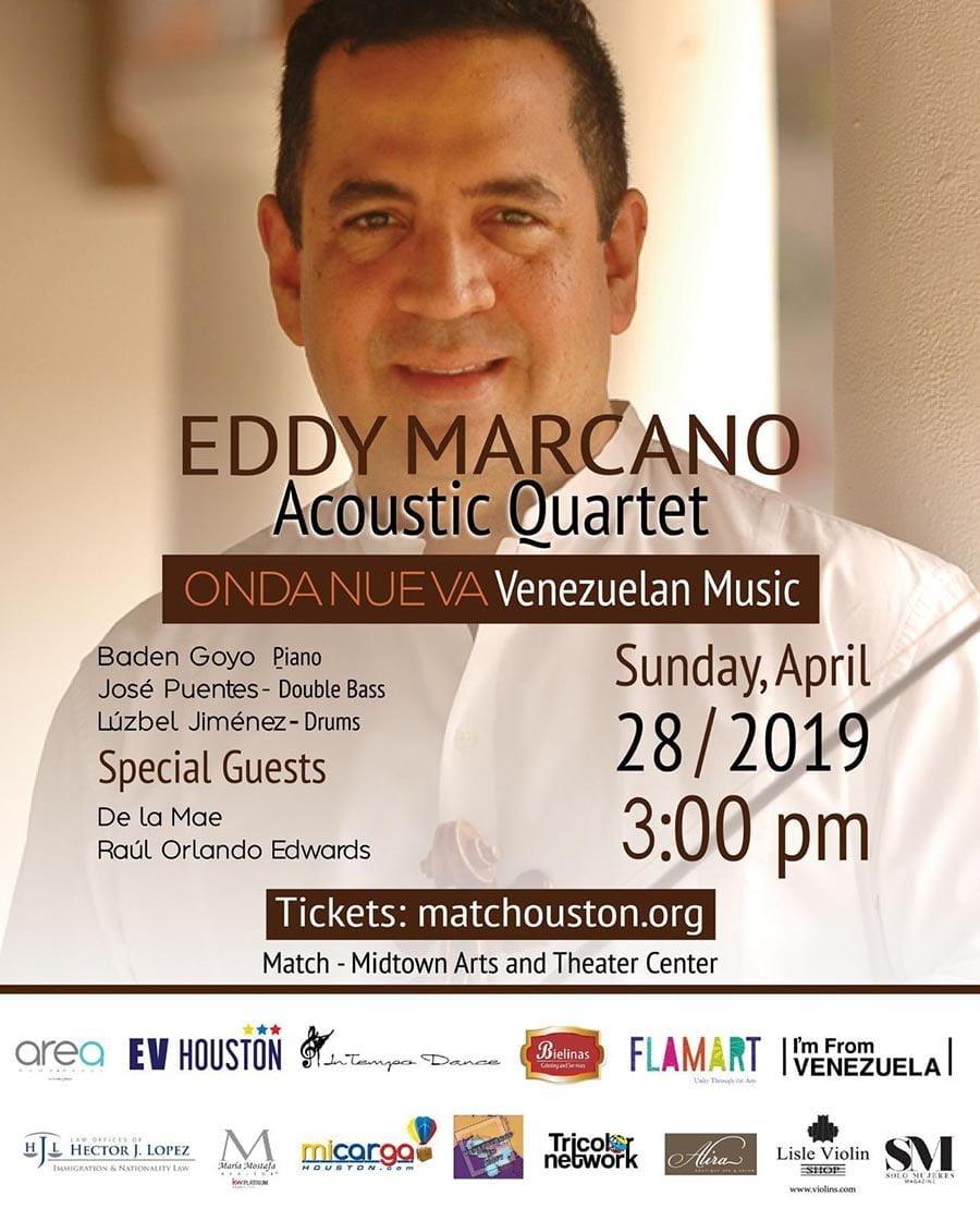 Eddy Marcano rinde homenaje a la Onda Nueva de Aldemaro Romero en Houston