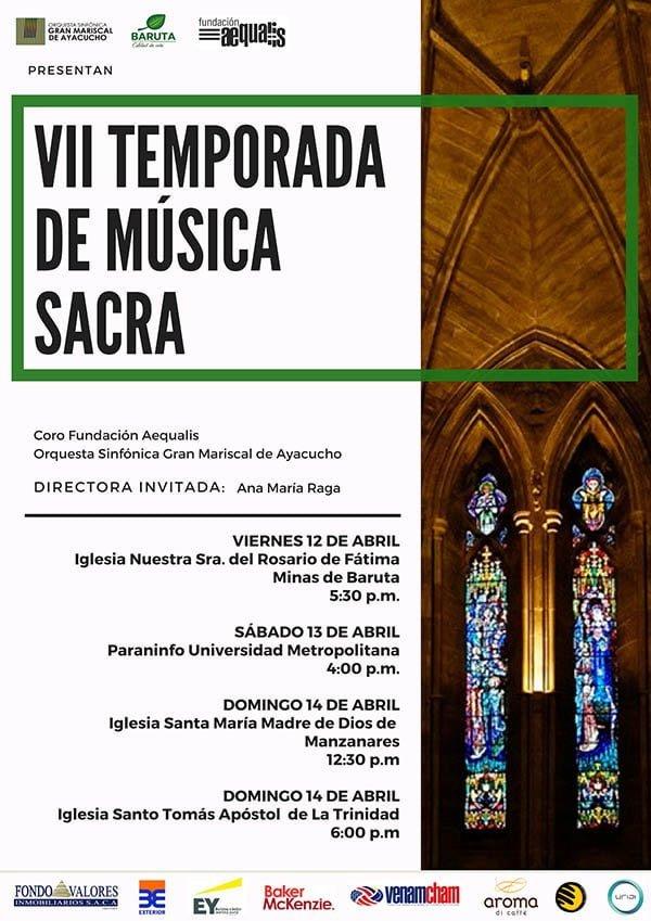 VII Temporada de Música Sacra al ritmo de la OSGMA