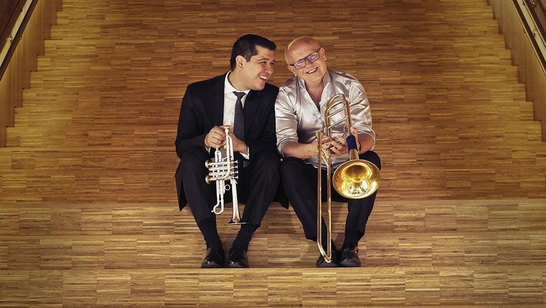 """""""Pacho Flores es único en el mundo"""": afirma el trombonista, compositor y director Christian Lindberg"""