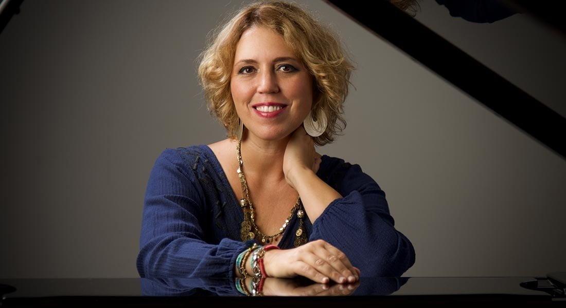 El virtuosismo de la pianista Gabriela Montero y el violonchelista Gautier Capuçon en el Pérez Galdós