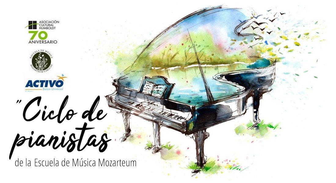 Este fin de semana se presenta el«Ciclo de pianistas»de laEscuela Mozarteum