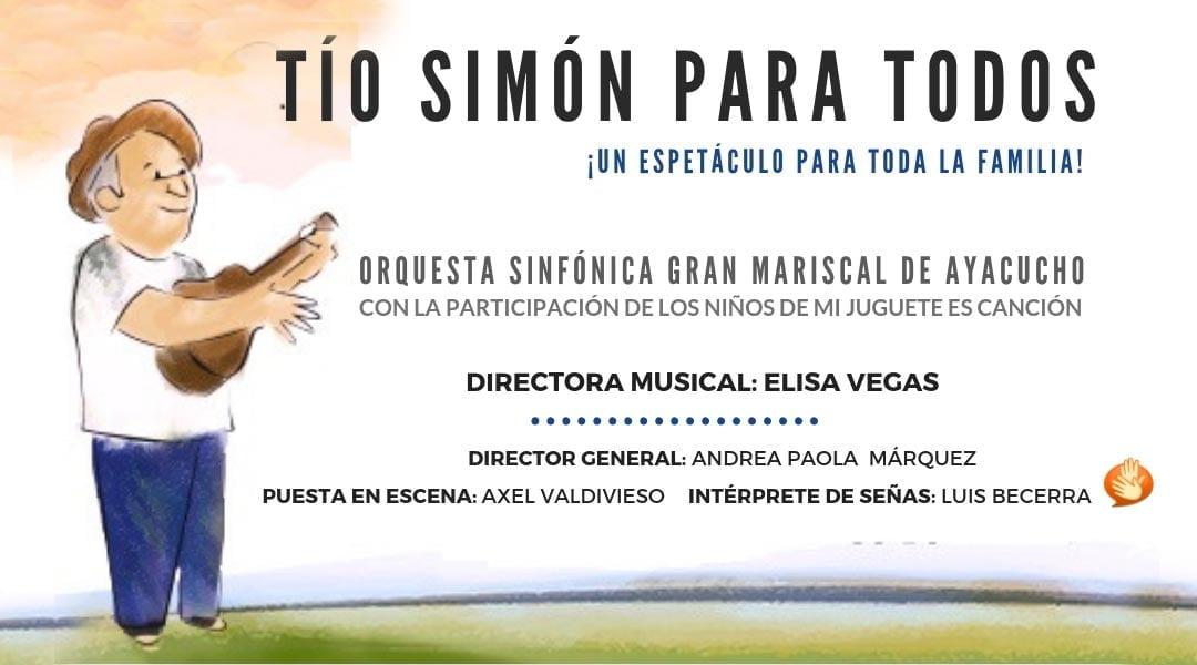 Tío Simón para todos, un espectáculo musical infantil que reconocerá la fauna venezolana en peligro de extinción