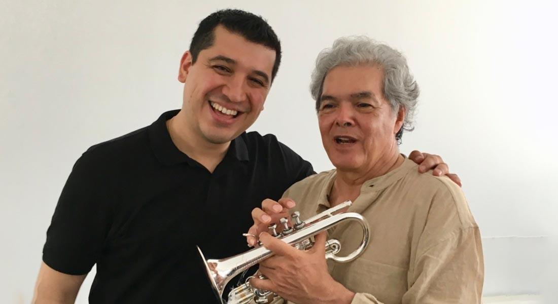 """Arturo Márquez: """"Pacho Flores es el mejor trompetista del mundo"""""""