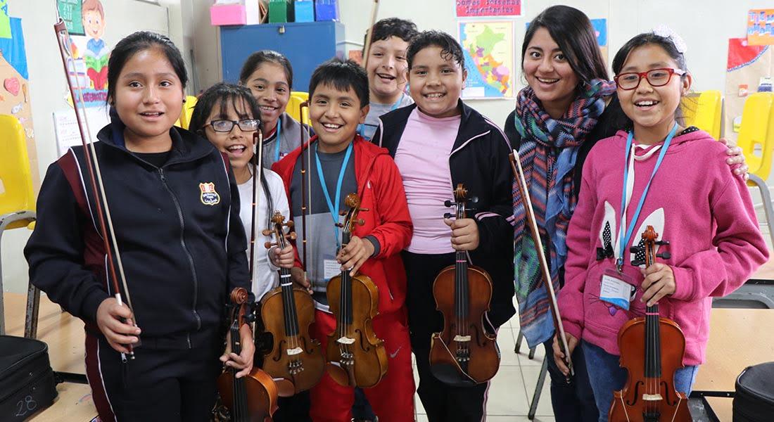 """Miguel Molinari: """"El barrio se siente orgulloso de lo que sus hijos están logrando en Sinfonía por el Perú"""""""