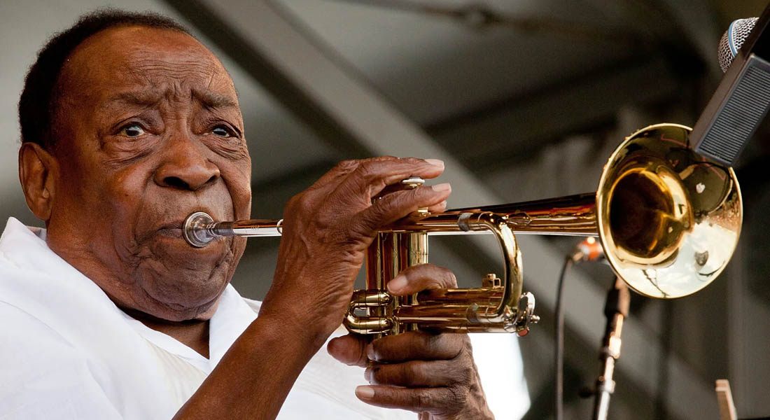 Murió el centenario trompetista Dave Bartholomew, uno de los padres del rock and roll