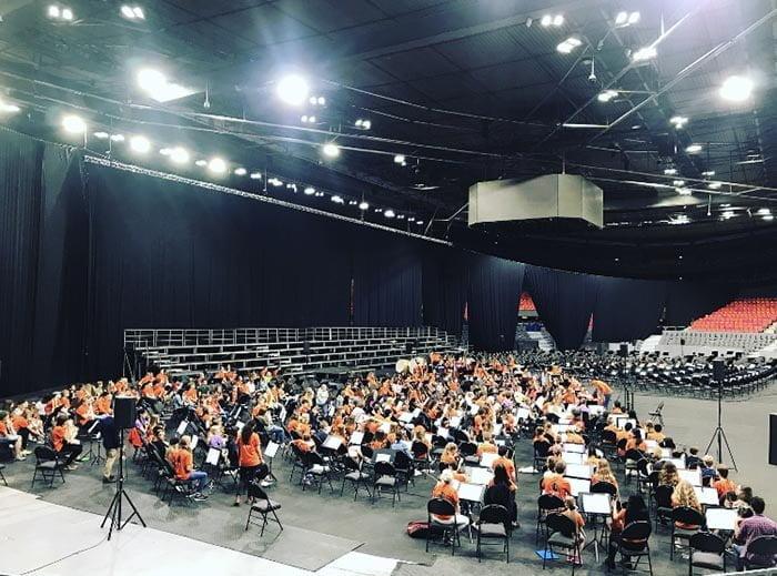 Passeurs D'Arts estrechó la mano de El Sistema Suecia en un gran encuentro musical