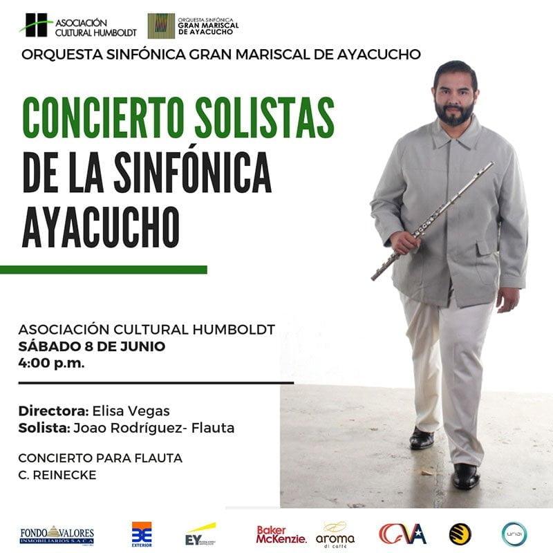 Llega a la Asociación Cultural Humboldt el concierto Solistas de la Ayacucho
