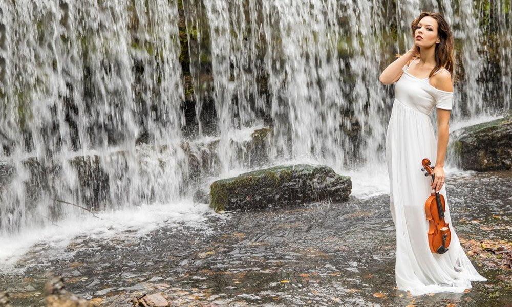 La violinista Lauren Conklin lanza su primera producción «Water Music»