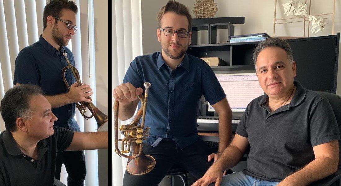 Tarcisio Barreto Ceballos y Tarcisio Barreto D'Addona unen talentos para grabar un disco lleno de historia musical