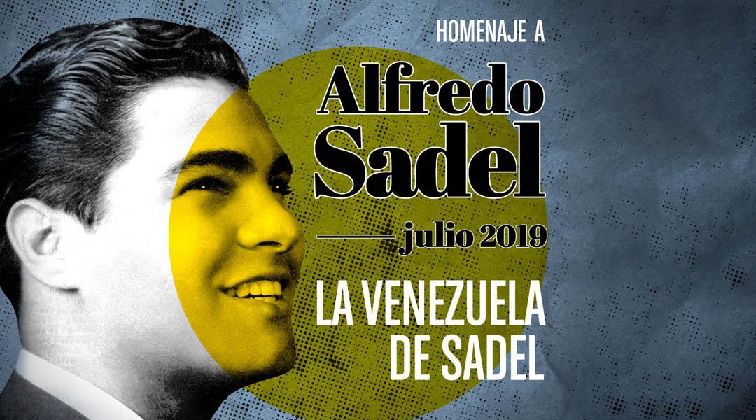 Un festival para Sadel: cantante y héroe de la democracia
