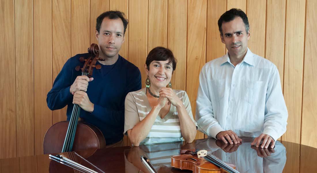 Dos grandes tríos de música de cámara resplandecen en la Quinta El Cerrito