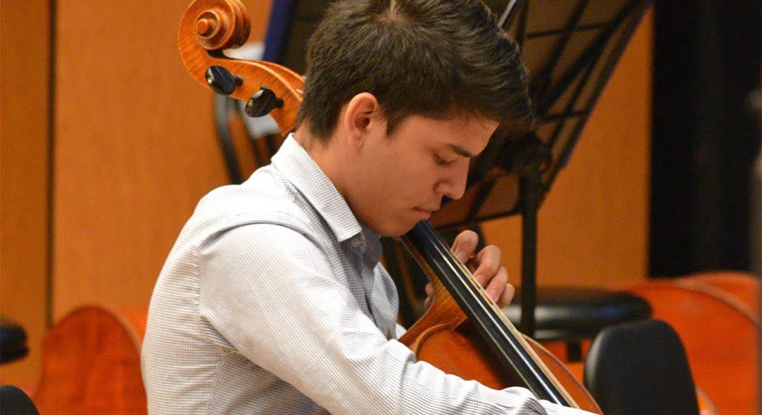 Miguel Ángel Hernández clasificó entre los 5 finalistas del Concurso Internacional de Violonchelo Carlos Prieto