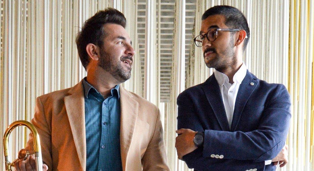 """Los hermanos Pedro y Yefren Carrero agradecen a """"El Sistema"""" con conciertos y actividades musicales"""