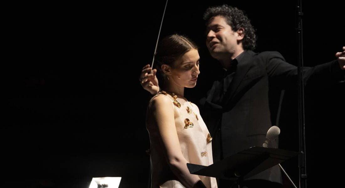 Gustavo Dudamel obtuvo un rotundo éxito en su debú en el Festival Castell de Peralada