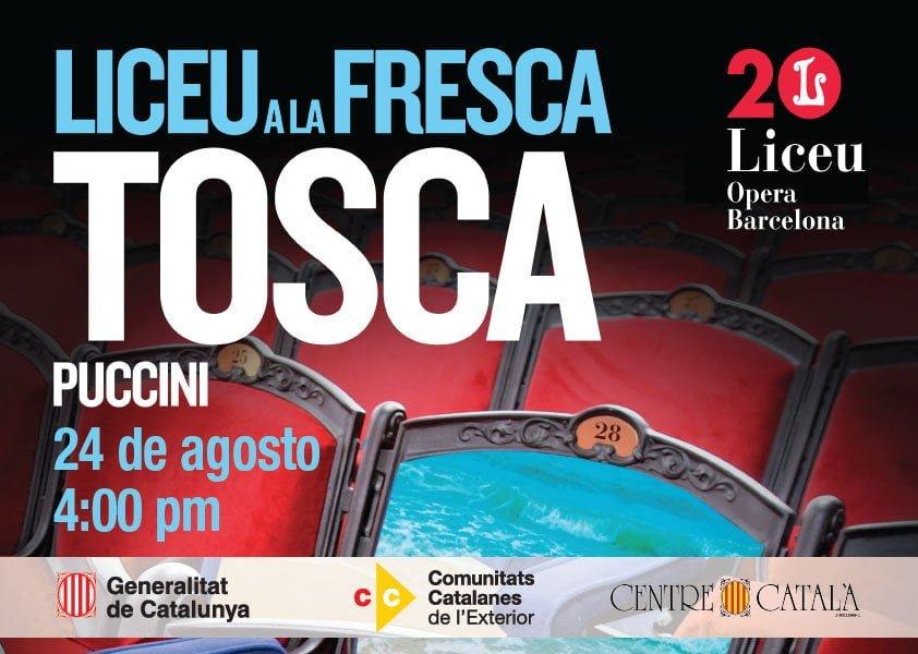 Por primera vez en Venezuela, se retransmitirá en vivo la ópera «Tosca» de Puccini que se está representando en el Liceu de Barcelona