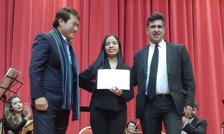 La venezolana Oriana Silva gana el 1er. lugar del 5to. Curso Concurso de Dirección Orquestal organizado por la Camerata Académica de Córdoba en Argentina