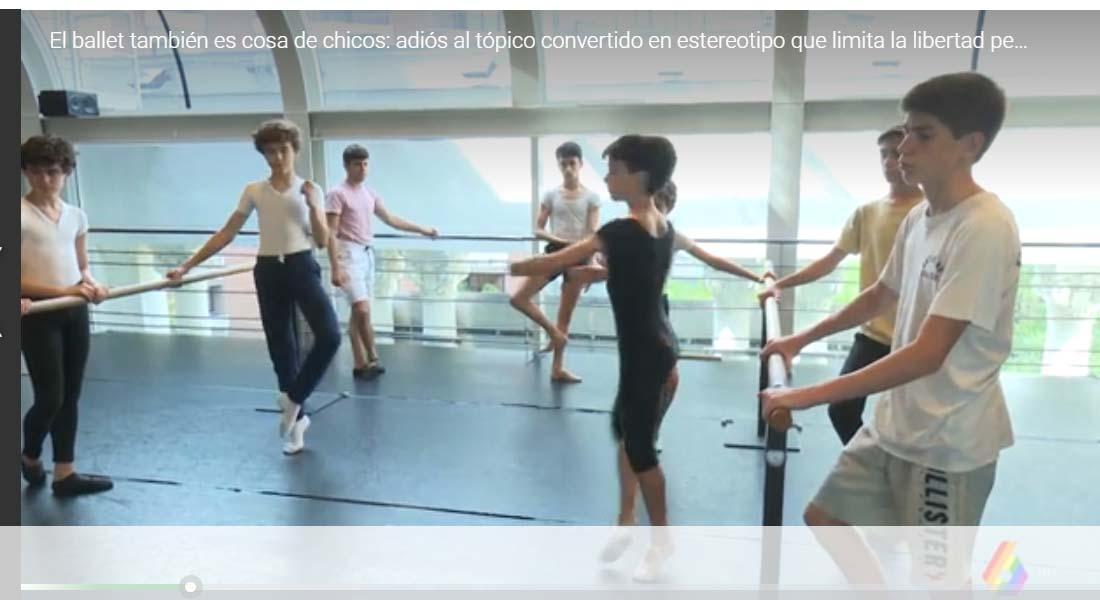 El ballet también es cosa de chicos: adiós al tópico convertido en estereotipo que limita la libertad personal