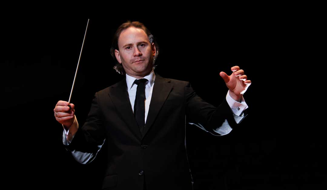 Christian Vásquez llegó a El Sistema para abrir su nueva temporada de conciertos
