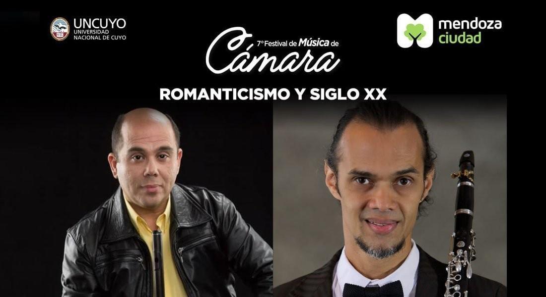 Miguel Pineda Záccara y Gorgias Sánchez participarán en el 7mo Festival de Música de  Cámara de Mendoza