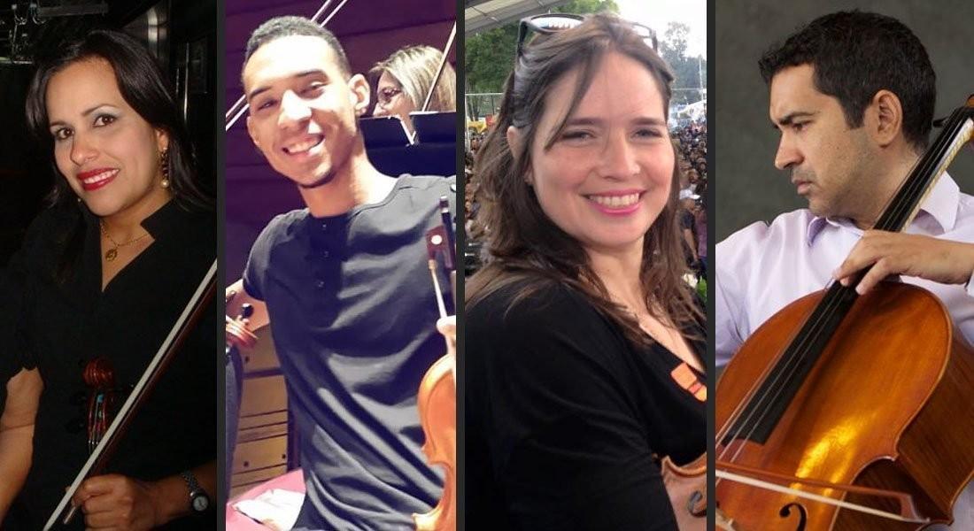 Cuarteto de Cuerdas del Siglo XX en El Cerrito