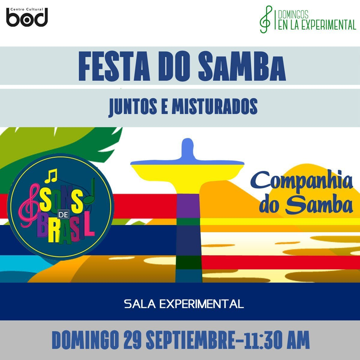 Con una Festa do Samba se despide Sons de Brasil 2019