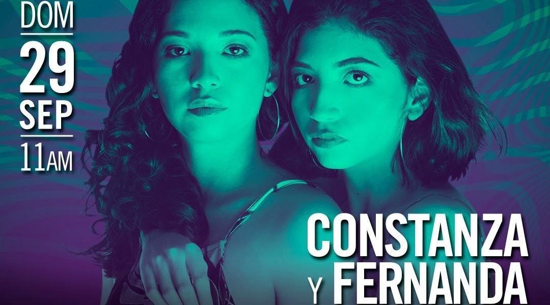 Las gemelas Constanza y Fernanda Cegarra llegan a Noches de Guataca