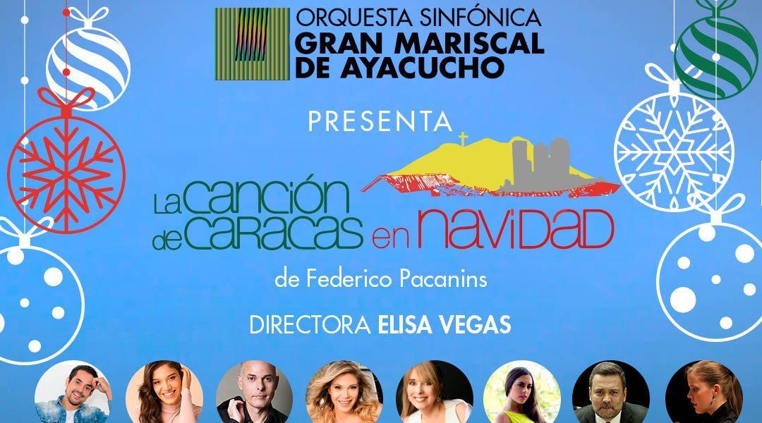 La Canción de Caracas en Navidad llega al Centro Cultural Chacao