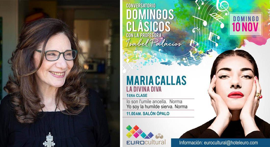 El Hotel Eurobuilding trae los Domingos Clásicos al Eurocultural de la mano de Isabel Palacios