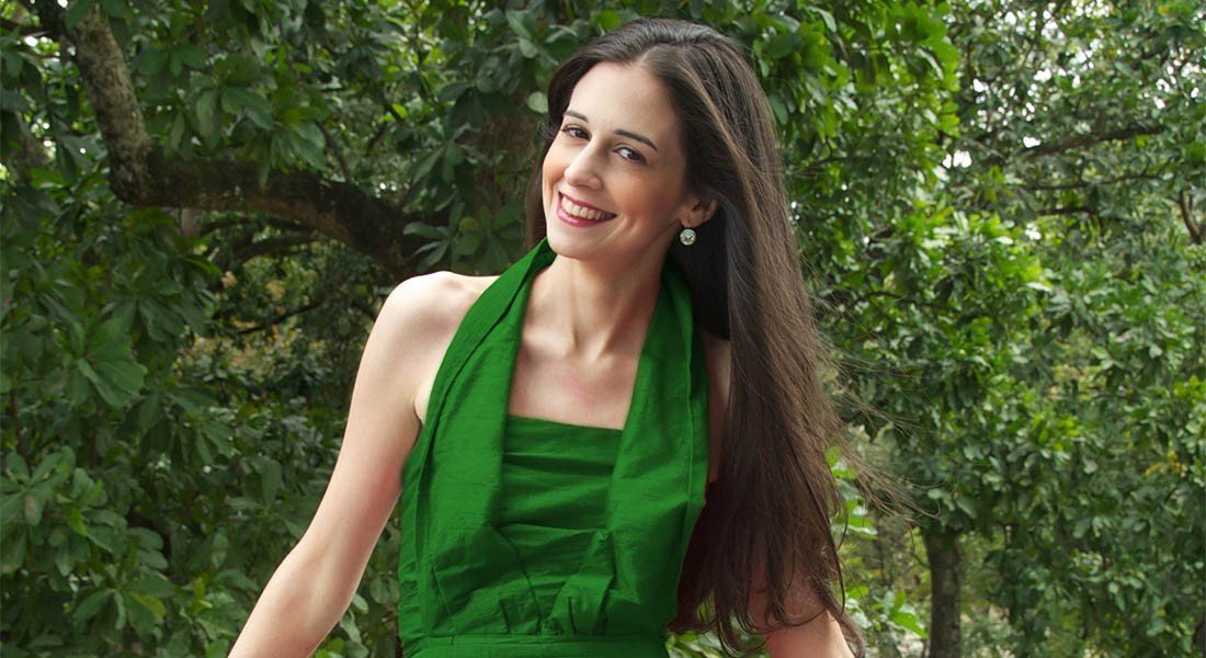 Karina Ochoalcalá presenta su primer disco «Romance de Navidad» junto al pianista David Ascanio