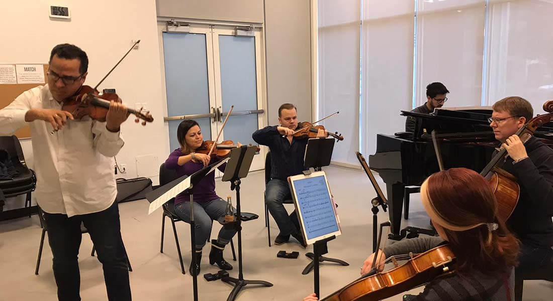 El Cuarteto de Cuerdas Apollo elogia las virtudes de la música tradicional venezolana