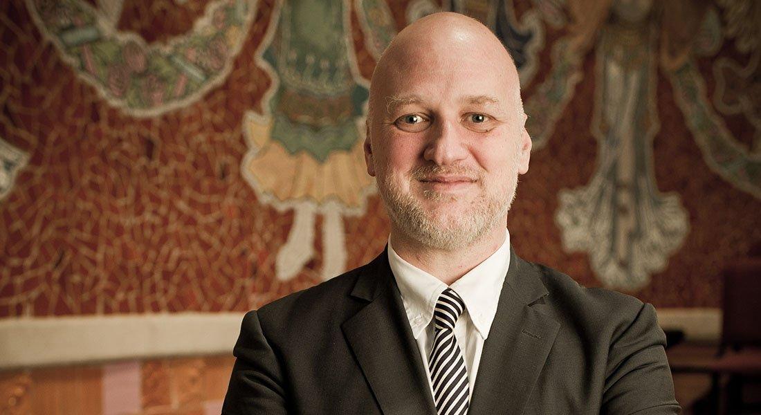 Conversaciones de Atril presenta a Joan Oller actual Director General del Palau de la Música Catalana