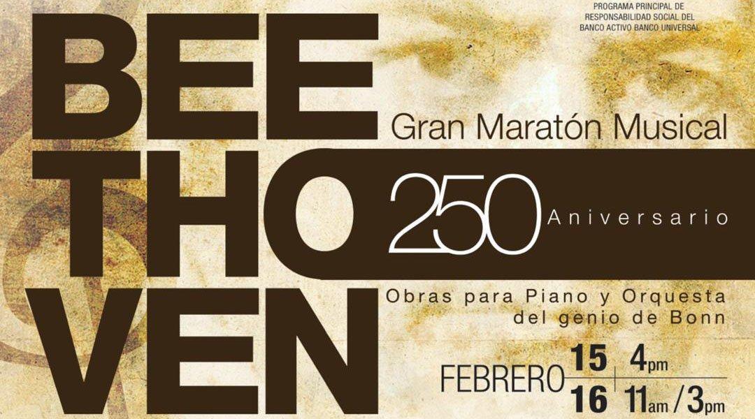 La OSMC inicia la celebración de sus 40 años con el gran maratón musical: Beethoven 250 aniversario de su nacimiento