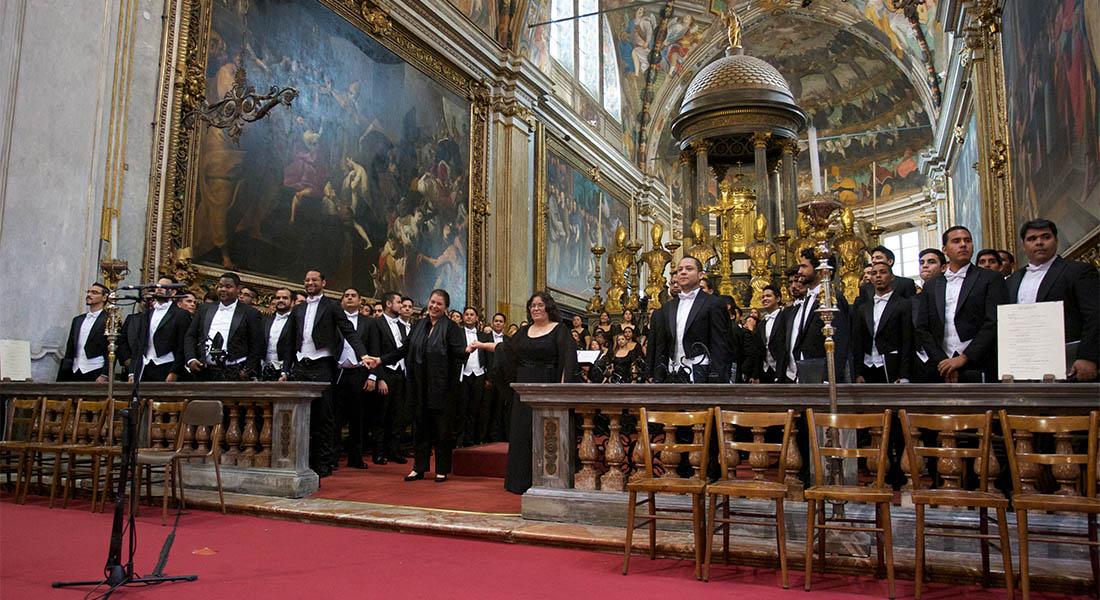 Sala Virtual te transporta a Milán en concierto de la Coral Nacional Simón Bolívar