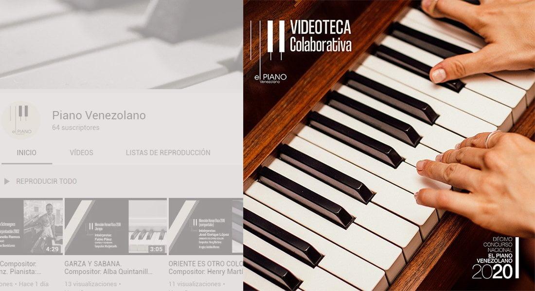 Concurso Nacional 'El Piano Venezolano'  estrena canal de YouTube