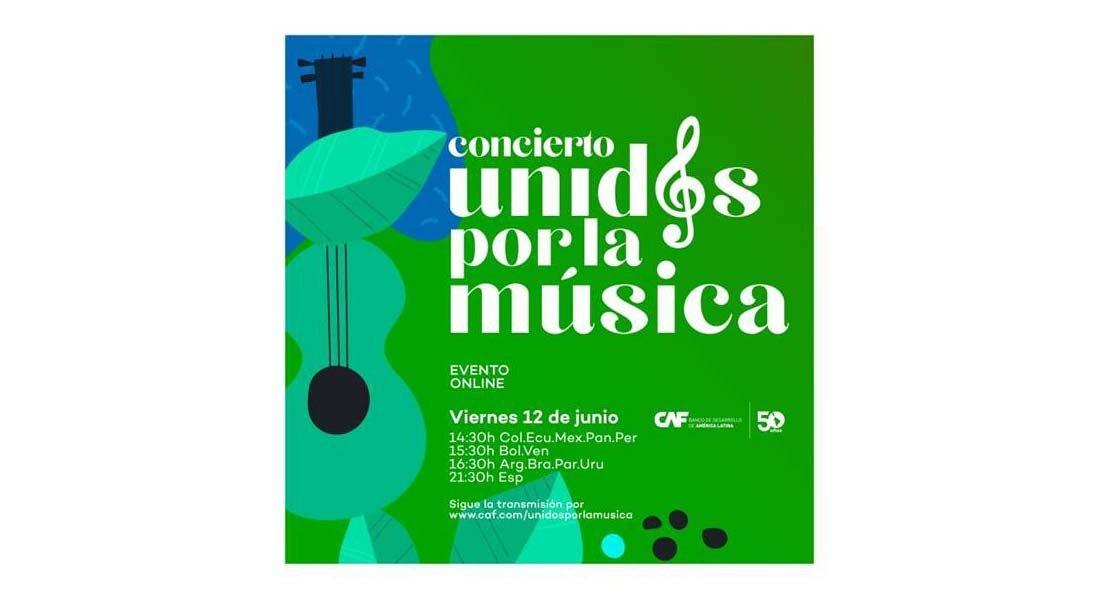 CAF celebra su 50 aniversario con el concierto virtual «Unidos por la música»